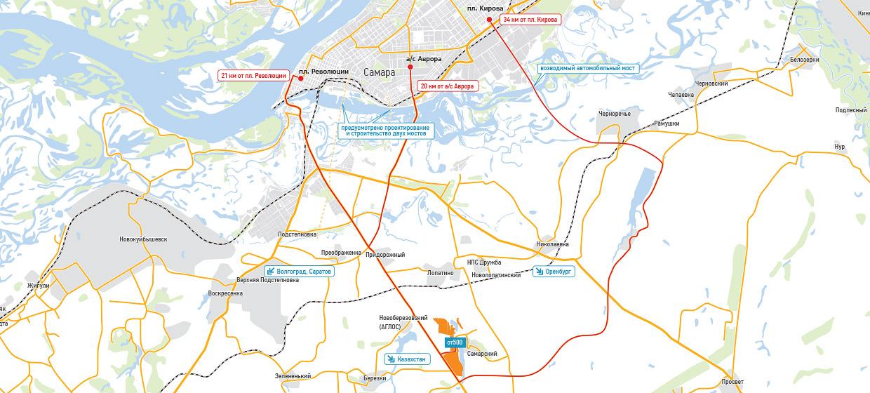 Карта Самара Аглос